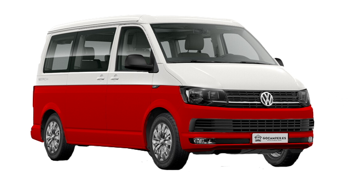 VW T5 RED LINE 2 PLAZAS